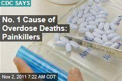 No. 1 Cause of Drug Overdose Deaths: Painkillers, Which Top Heroin and Cocaine Deaths Combined