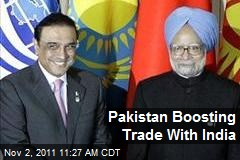 Pakistan Boosting Trade With India
