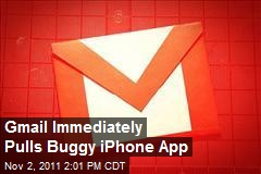 Gmail Immediately Pulls Buggy iPhone App