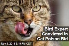 Smithsonian Bird Expert Nico Dauphine Convicted of Animal Cruelty in Cat Poison Bid