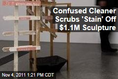 Confused Cleaner Scrubs 'Stain' Off $1.1M Martin Kippenberger Sculpture