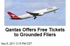 Qantas Offers Free Tickets to Grounded Fliers