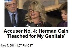 Herman Cain Accuser Sharon Bialek: He 'Reached for My Genitals'