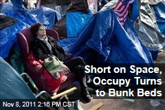 Occupy Wall Street Short on Space in Zuccotti Park