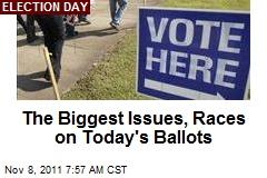 The Biggest Issues, Races on Today's Ballots