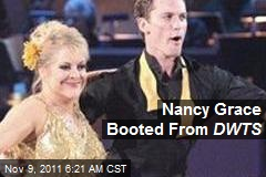 Nancy Grace Booted From DWTS