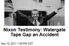 Richard Nixon Said Gap on Watergate Tape Was Just an Accident