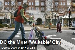 DC the Most 'Walkable' City