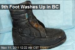 9th Foot Washes Up in BC