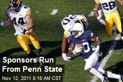 Sponsors Run From Penn State