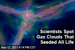 Scientists Glimpse Gas Clouds That Seeded Our Universe