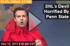 SNL's Devil Horrified By Penn State