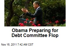 Obama Administration Eying Debt Super Committee With Pessimism