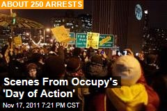 Police Arrest Dozens of Occupy Protesters Across the County
