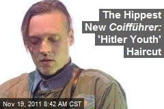 The Hippest New Coifführer: 'Hitler Youth' Haircut