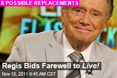 Regis Philbin Bids Farewell to 'Live! with Regis and Kelly'