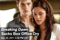 The Twilight Saga: Breaking Dawn—Part 1 Wins Weekend Box Office