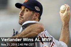 Justin Verlander Wins AL MVP