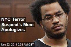 Mother of New York City Terror Suspect Jose Pimentel Apologizes to City