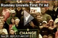 Romney Unveils First TV Ad