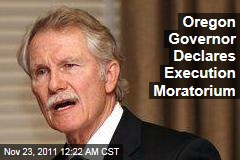 Oregon Governor John Kitzhaber Declares Moratorium on Executions