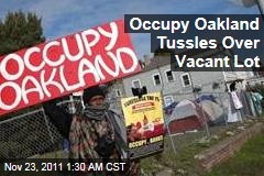 Occupy Oakland Targets Wells Fargo Foreclosure in Latest Encampment