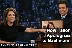 Jimmy Fallon Apologizes to Michele Bachmann for 'Late Night' Intro Song Flap