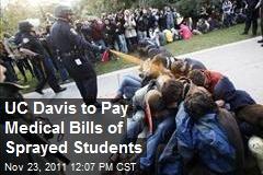 UC Davis to Pay Medical Bills of Sprayed Students