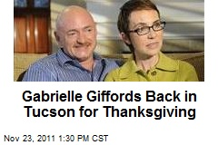 Gabrielle Giffords Back in Tucson for Thanksgiving