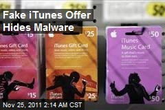Fake iTunes Offer Hides Malware