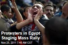 Throngs Gather in Egypt for Mass Protest as New Prime Minister Is Installed