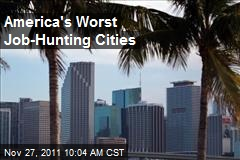 America's Worst Job-Hunting Cities