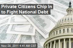 Private Citizens Chip In to Fight National Debt