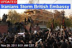 Iranians Storm British Embassy