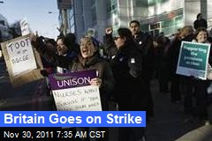 Britain Goes on Strike