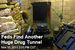 Feds Find Another Huge Drug Tunnel