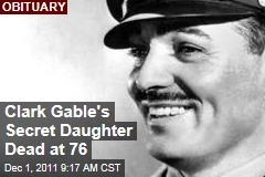 Judy Lewis, Clark Gable's Secret Daughter, Dead at 76