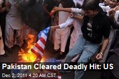 Pakistan Cleared Deadly Hit: US