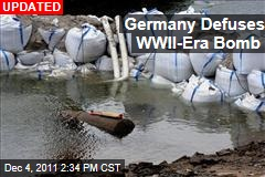 Germany Defusing WWII-Era Bomb
