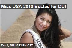 Rima Fakih, Miss USA 2010, Arrested and Charged With Drunk Driving