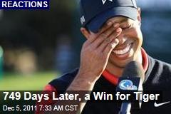 Tiger Woods Finally Wins at Chevron World Challenge