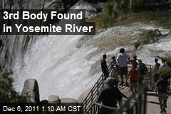 3rd Body Found in Yosemite River