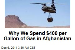 In Afghanistan, Gas Costing US $400 Per Gallon