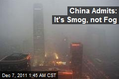 Blinding Smog Grounds Flights in Beijing