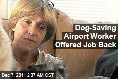 Lynn Jones, Reno Baggage Worker Who Saved Abused Dog, Offered Job Back