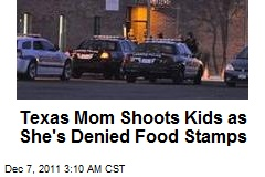 Suicidal Mom Shoots Kids As She's Denied Food Stamps