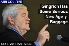 Gingrich Has Some Serious New Age-y Baggage