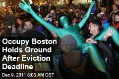 Occupy Movement: Occupy Boston Holds Ground Despite Eviction Deadline