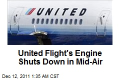 United Flight in Emergency Landing