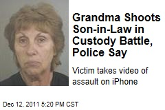 Grandma Shoots Son-in-Law in Custory Battle, Police Say